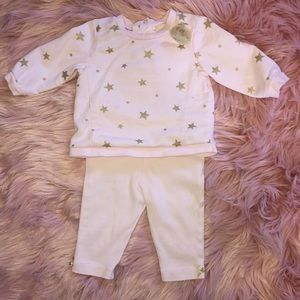 Little Me Couture Star Outfit with headband